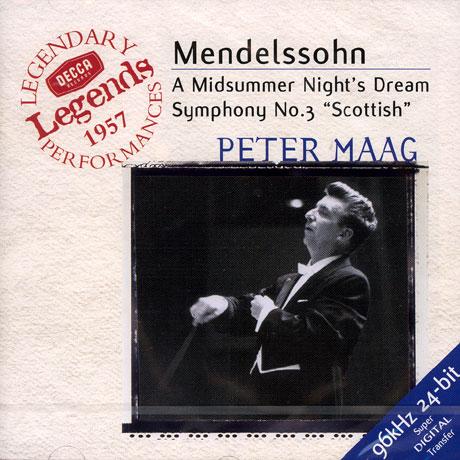 MIDSUMMER NIGHT`S DREAM ETC/ PETER MAAG [DECCA LEGENDS]