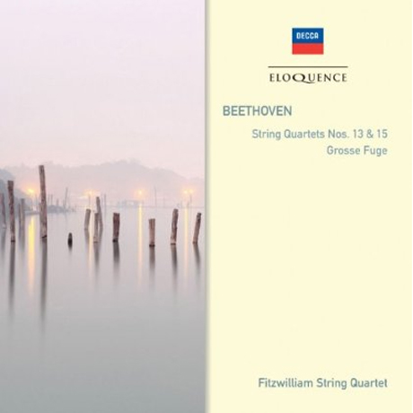 STRING QUARTETS NOS.13 & 15/ FITZWILLIAM STRING QUARTET