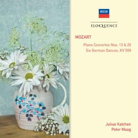 PIANO CONCERTOS NOS.13 & 20/ JULIUS KATCHEN, PETER MAAG