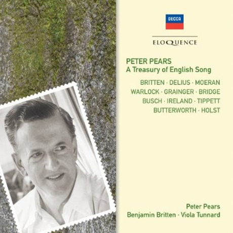 A TREASURY OF ENGLISH SONG/ PETER PEARS, BENJAMIN BRITTEN