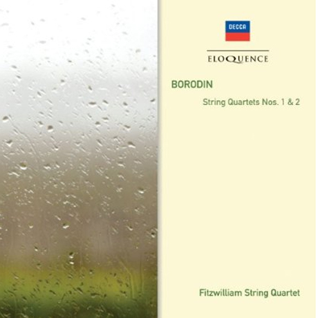 STRING QUARTETS NOS.1 & 2/ FITZWILLIAM STRING QUARTET