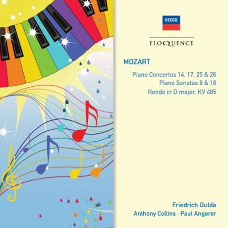 PIANO CONCERTOS 14,17,25 & 26/ FRIEDRICH GULDA, ANTHONY COLLINS