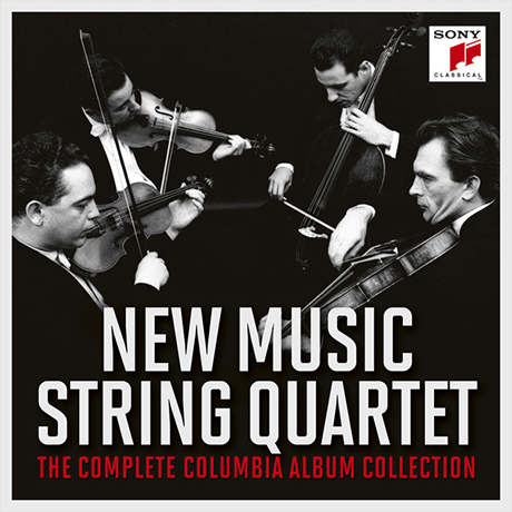 THE COMPLETE COLUMBIA ALBUM COLLECTION [뉴 뮤직 현악 사중주단: 콜럼비아 녹음 전집]