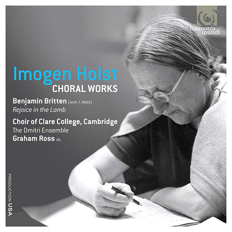 CHORAL WORKS/ CHOIR OF CLARE COLLEGE CAMBRIDGE, GRAHAM ROSS