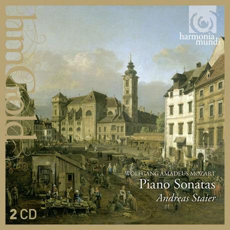 PIANO SONATAS/ ANDREAS STAIER [HM GOLD] [모차르트 피아노소나타: 안드레아스 슈타이어]