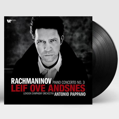 PIANO CONCERTO NO.3/ LEIF OVE ANDSNES, ANTONIO PAPPANO [라흐마니노프: 피아노 협주곡 3번 - 안스네스, 파파노] [LP]