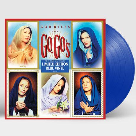 GOD BLESS THE GO-GO`S [BLUE LP] [한정반]
