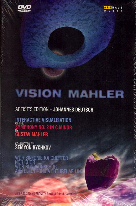 VISION: MAHLER SYMPHONY NO.2 `RESURRECTION`/ SEMYON BYCHKOV [DVD+2CD] [비전: 말러 교향곡 2번 `부활`/ 세미온 비쉬코프]