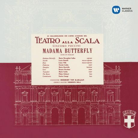 PUCCINI: MADAMA BUTTERFLY/ HERBERT VON KARAJAN [CALLAS REMASTERED 2014] [마리아 칼라스: 푸치니 나비부인 1955]