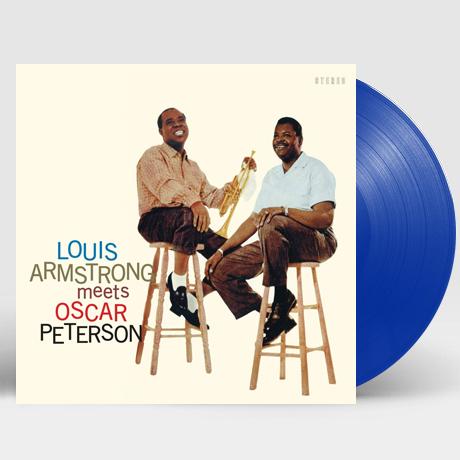 LOUIS ARMSTRONG MEETS OSCAR PETERSON [180G BLUE LP] [한정반]