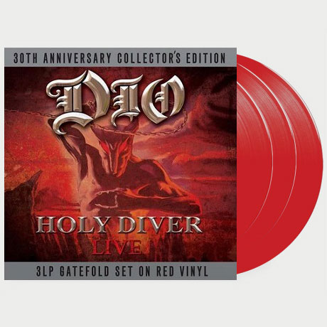 HOLY DIVER [180G RED LP]