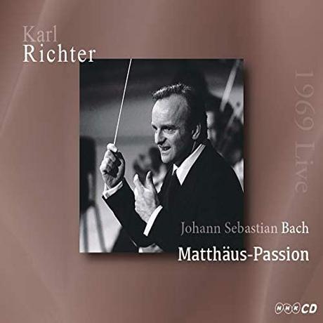 MATTHAUS PASSION/ KARL RICHTER [바흐: 마태 수난곡 - 칼 리히터 일본 라이브 1969]