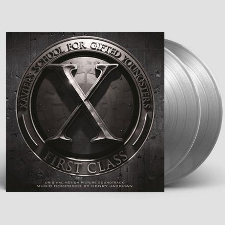 X-MEN: FIRST CLASS [엑스맨: 퍼스트 클래스] [180G SILVER LP]