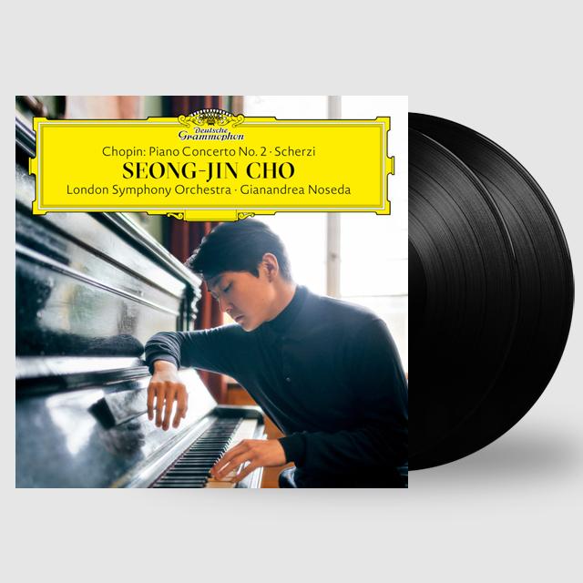 PIANO CONCERTO NO.2, SCHERZI/ SEONG-JIN CHO, GIANANDREA NOSEDA [쇼팽: 피아노 협주곡 2번, 스케르초 - 조성진] [LP]