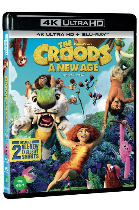 크루즈 패밀리: 뉴 에이지 4K UHD+BD [THE CROODS: A NEW AGE]