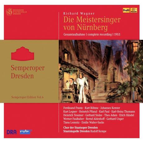 DIE MEISTERSINGER VON NURNBERG - DRESDEN 1951/ RUDOLF KEMPE [바그너: 오페라 <뉘른베르크의 명가수>]