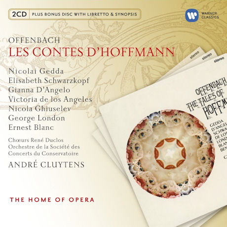 LES CONTES D`HOFFMANN/ ANDRE CLUYTENS [BONUS CD] [THE HOME OF OPERA] [오펜바흐: 호프만의 이야기]
