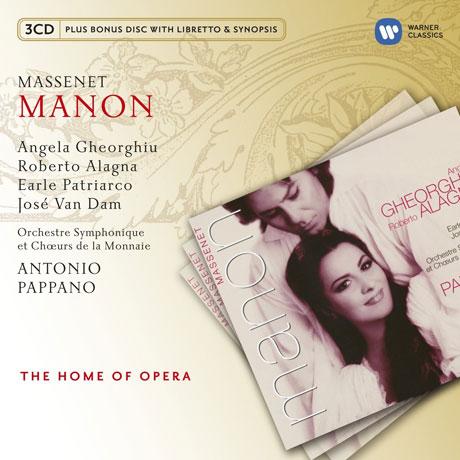 MANON/ ANTONIO PAPPANO [BONUS CD] [THE HOME OF OPERA] [마스네: 마농]