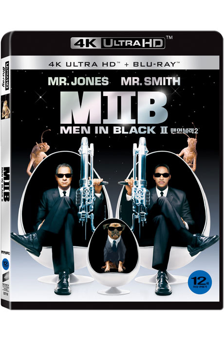 맨 인 블랙 2 [4K UHD+BD] [MEN IN BLACK 2]