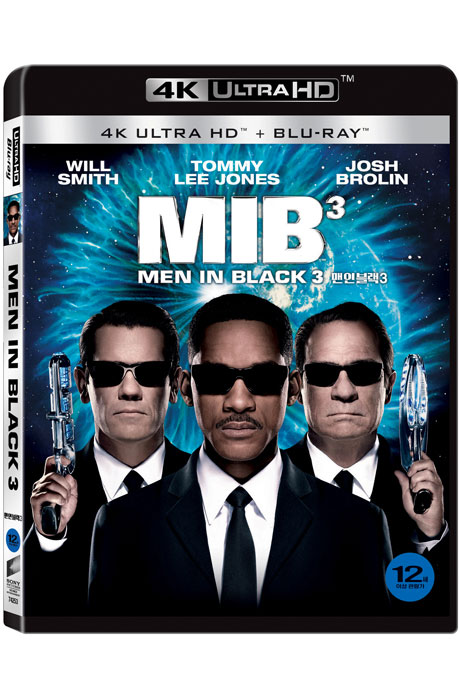 맨 인 블랙 3 [4K UHD+BD] [MEN IN BLACK 3]