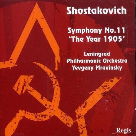 SYMPHONY NO.11 `THE YEAR 1905`/ YEVGENY MRAVINSKY