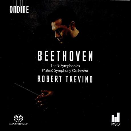 THE 9 SYMPHONIES/ ROBERT TREVINO [SACD HYBRID] [베토벤: 교향곡 전곡 - 로버트 트레비노]