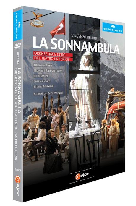 LA SONNAMBULA/ GABRIELE FERRO [벨리니: 몽유병의 여인]