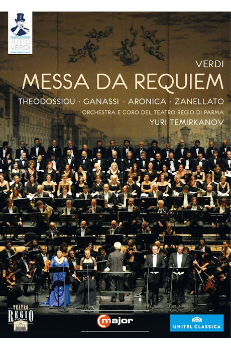 MESSA DA REQUIEM+VERDI`S BACKYARD/ YURI TEMIRKANOV [TUTTO VERDI 27] [베르디 레퀴엠+음악 다큐멘터리<베르디의 뒤뜰>]