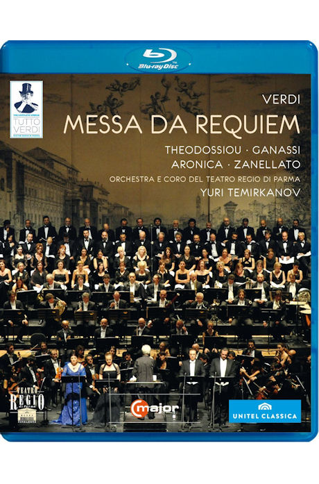 MESSA DA REQUIEM+VERDI`S BACKYARD/ YURI TEMIRKANOV [TUTTO VERDI 27] [베르디 레퀴엠+음악 다큐멘터리<베르디의 뒤뜰>]