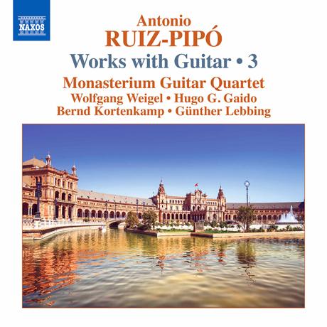 WORKS WITH GUITAR 3/ MONASTERIUM GUITAR QUARTET [루이즈-피포: 기타 작품 3집 - 모나스테리움 기타 사중주단]