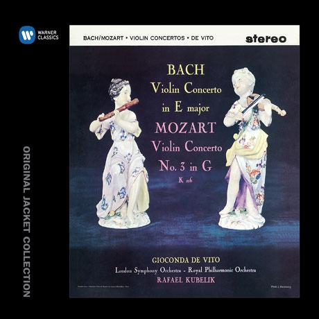 BACH & MOZART VIOLIN CONCERTOS/ RAFAEL KUBELIK [워너 오리지널 자켓 컬렉션] [지오콘다 데 비토: 바흐 & 모차르트 바이올린 협주곡]