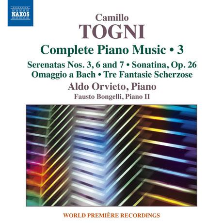 Camillo Togni - Aldo Orvieto Complete Piano Music 1