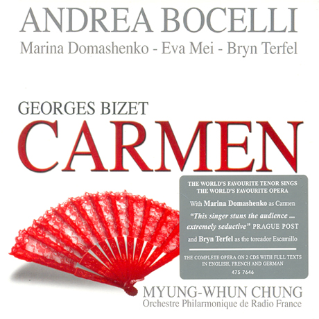 CARMEN/ ANDREA BOCELLI, 정명훈