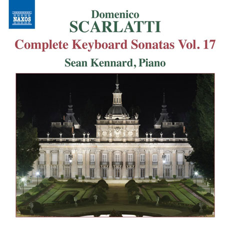 COMPLETE KEYBOARD SONATAS VOL.17/ SEAN KENNARD [스카를라티: 건반소나타 17집]