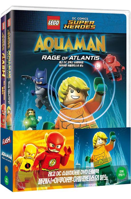 레고 DC 슈퍼히어로 플래시+아쿠아맨 더블팩 [한정판] [LEGO DC: THE FLASH+AQUAMAN]