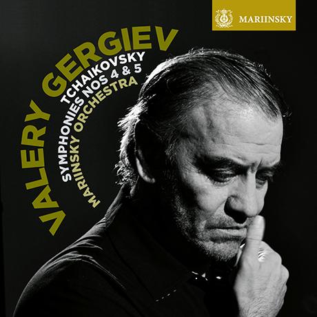 SYMPHONIES NOS.4 & 5/ VALERY GERGIEV [차이코프스키: 교향곡 4, 5번 - 발레리 게르기에프]