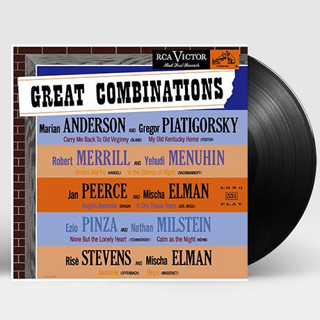 GREAT COMBINATIONS [그레이트 콤비네이션] [ANALOGPHONIC 180G LP]