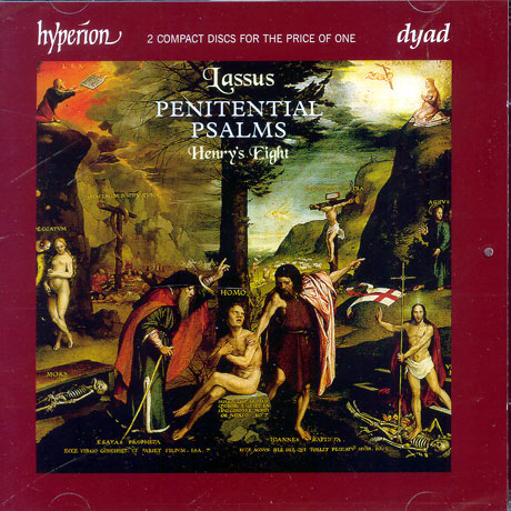 PENITENTIAL PSALMS, HENRY`S EIGHT/ JONATHAN BROWN