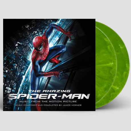 THE AMAZING SPIDER-MAN [어메이징 스파이더맨] [GREEN MARBLED LP]