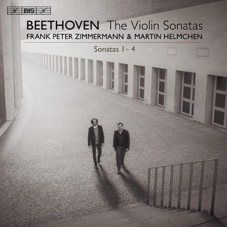 VIOLIN SONATAS 1-4/ FRANK PETER ZIMMERMANN, MARTIN HELMCHEN [SACD HYBRID] [베토벤: 바이올린 소나타 1집 - 프랑크 페터 침머만]
