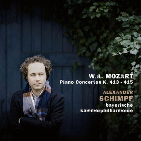 PIANO CONCERTOS K.413-415/ ALEXANDER SCHIMPF [모차르트: 피아노 협주곡 11, 12, 13번 - 알렉산더 쉼프]