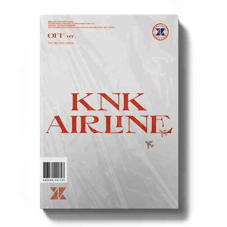 KNK AIRLINE [미니 3집] [OFF VER]