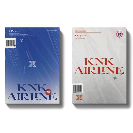 KNK AIRLINE [미니 3집] [2종 세트]