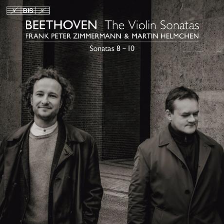VIOLIN SONATAS 8-10/ FRANK PETER ZIMMERMANN, MARTIN HELMCHEN [SACD HYBRID] [베토벤: 바이올린 소나타 3집 - 프랑크 페터 침머만]