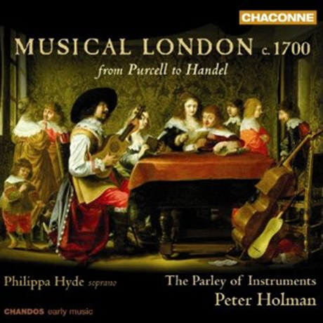 MUSICAL LONDON 1700 FROM PURCELL TO HANDEL