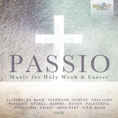 PASSIO:MUSIC FOR HOLY WEEK & EASTER [성주간과 부활절을 위한 종교 성악곡집]