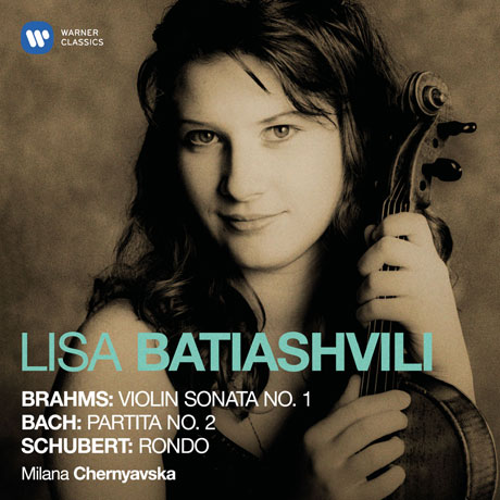 BRAHMS, BACH, SCHUBERT: VIOLIN SONATAS/ MILANA CHERNYAVSKA [ORIGINAL JACKET] [브람스, 바흐, 슈베르트: 바이올린 소나타 - 리사 바티아쉬빌리]