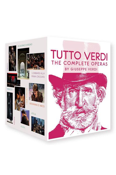 TUTTO VERDI: THE COMPLETE OPERAS [베르디: 오페라 전곡] [한글자막] [한정판]