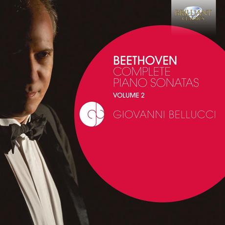 COMPLETE PIANO SONATAS VOL.2/ GIOVANNI BELLUCCI [베토벤: 피아노 소나타 2집 - 지오바니 벨루치]