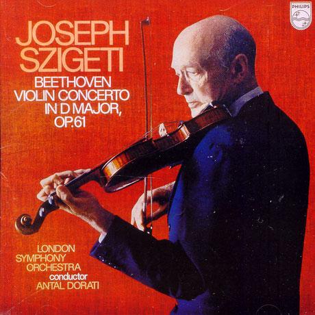 VIOLIN CONCERTO/ SZIGETI/ DORATI (이 한장의 역사적 명반 시리즈)